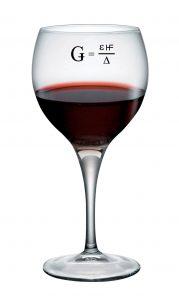 Ghost Bucks Formula Wine Glass